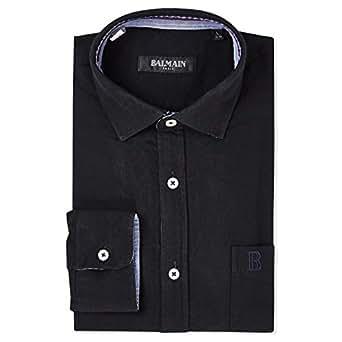 Balmain Casual Shirt for Men - Black