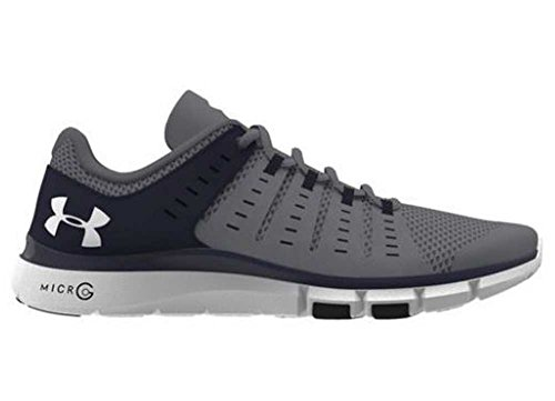 Under Armour Micro G Limitless Mens TR2 Training Shoe 1284864 (Steel/Navy 9) (G Shoes Micro Under Womens Armour)
