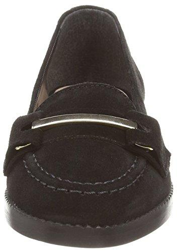 sin negro cordones mujer de cuero Zapatos Carvela negro Low T0xExz