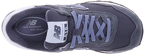 New Balance Women's 515 Modern Classics Lifestyle Sneaker Grey/lavender