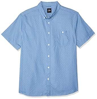 Hammersmith Men's Glencoe SS Shirt, Light Blue, 7XL