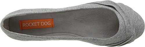 Shoe Flat Ankle Women's Dog Cotton Myrna Clueless Grey High Rocket PYF0nqxp