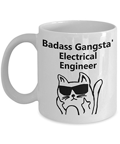 Badass Gangsta' Electrical Engineer Coffee Mug by ZenManAccoutrements