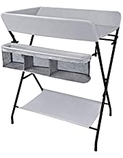 Family care/Changing Table Folding baby 1 Year Old Changing Unit with Bath Baby Changing Station Portable Baby Station Unit Changing Unit