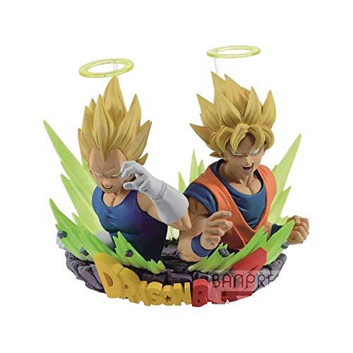 Banpresto Dragon Ball Z Com: Figuration Volume 2 Son Goku and Vegeta Action Figure