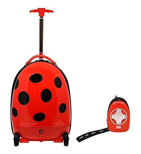 Rastar Kids Rolling Luggage Ladybug Remote Control Suitcase-BIG SALE-Last Ones!
