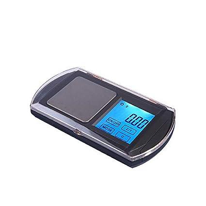 WUTONGBásculas electrónicas de la joyería portátil Básculas electrónicas de la Mini balanza de la precisión Básculas