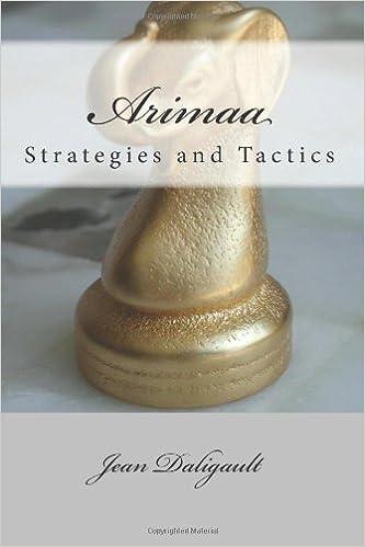 Arimaa Strategies and Tactics