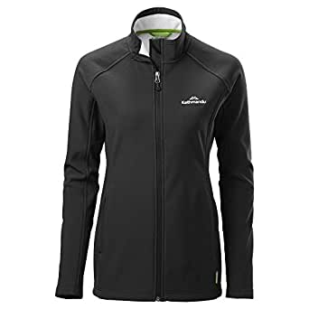 Kathmandu Arbury Wind-Resistant Water-Repellent Breathable Outdoor Women Jacket Women's Black 10
