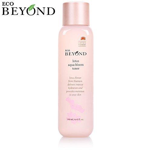 Toner Facial Bmr (Skin Toner [Eco Beyond] Lotus Aqua Bloom Moisture Face Toner, Micro Hyaluronic Acid, Natural Ingredient 190mL/6.42Oz)