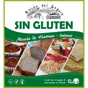 Mix harinas intensas sin gluten ecológico 5 kg: Amazon.es ...