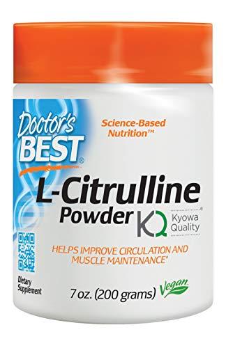 Doctor's Best L-Citrulline, Non-GMO, Vegan, Gluten Free, Soy Free, 200 Grams
