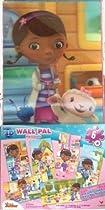 3D Wall Pal Puzzles, Doc McStuffins, 6 in box