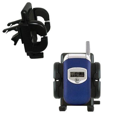 Gomadic Air Vent Clip Based Cradle Holder Car / Auto Mount suitable for the Motorola V260 V262 V265 V266 V276