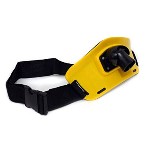 Fvstar Yellow Padded Fishing Waist Belt Fighting Fish Rod Holder Adjustable Waist Harness Gimbal Belt