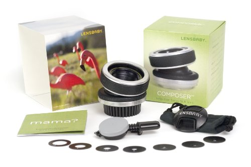 Lensbaby The Composer for Canon EF mount Digital SLR Cameras (Discontinued by Manufacturer)
