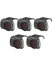Homehod Mini 2 Camera Lens ND Filters Set 5 Pack-(ND4PL ND8PL ND16PL ND32PL ND64PL) Compatible with DJI Mini 2 Mavic Mini Camera