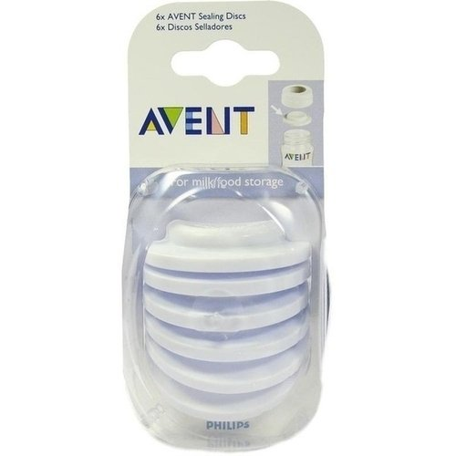 AVENT Sealing Discs for Avent Bottles (Pack of 6) Philips GmbH 02 0075 0012