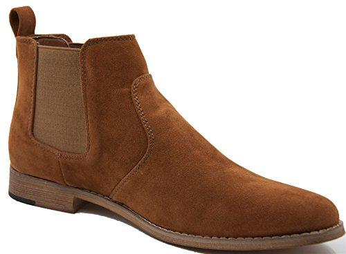 Uomo ,  Herren Chelsea Boots Camel