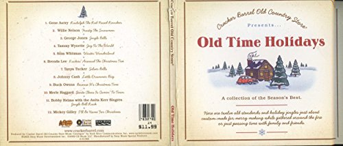 Cracker Barrel Old Country Store: Old Time Holidays (Music Barrel Cracker Christmas)