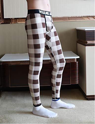 ARCITON Men's Low Rise Leggings Long Johns Thermal Pant