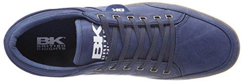 British Crepe Trainers Kunzo Blau Knights Navy 1Xxrz1w