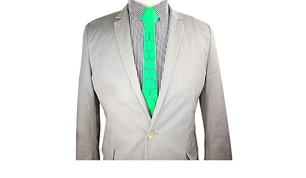 CEKINF Nueva Marca Acrílico Corbata Verde Azulado Verano Lazos ...