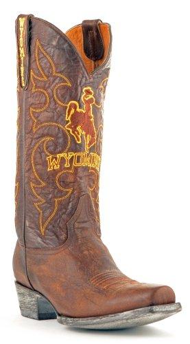 Ncaa Wyoming Cowboys Da Uomo In Stile Camera Da Letto In Ottone