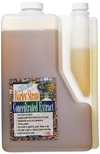 (Ecological Labs 971002   AEL20071 Microbe Lift Barley Straw Extract Pond Conditioners for Aquarium, 64-Ounce)