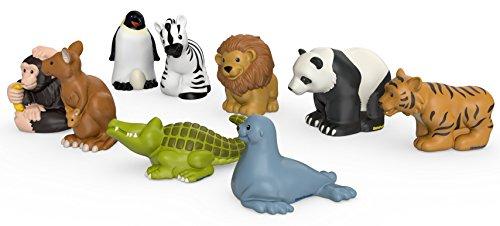 41XQJMiEYFL - Fisher-Price Little People Zoo Animal Friends