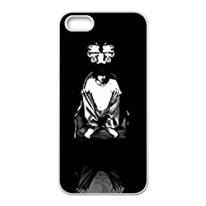 Generic for iPhone 5 5s Cell Phone Case White Death Note Custom HFOKHJHLK4041