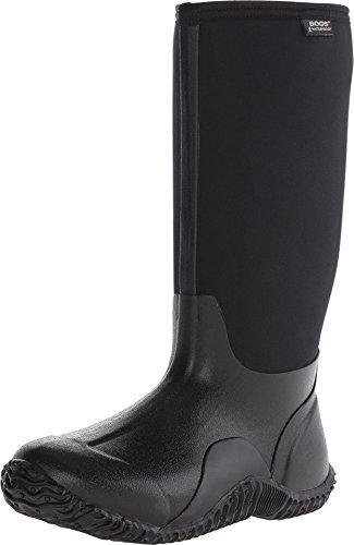Bogs Women's Classic High, Black, 9 B - Medium (Women Bog Boots)
