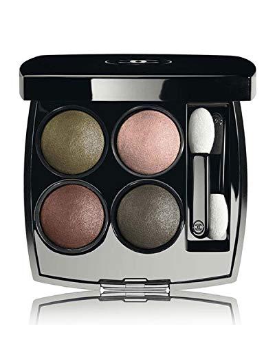 Multi Blush Cream Compact - LES 4 OMBRES Multi-Effect Quadra Eyeshadow Color: 254 Tisse D'automne