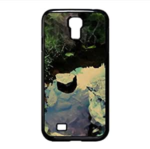 lintao diy Lake Tilt-Shift Watercolor style Cover Samsung Galaxy S4 I9500 Case (Lakes Watercolor style Cover Samsung Galaxy S4 I9500 Case)