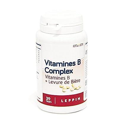 Leppin – Complejo B + levadura 30 comprimés – Sistema NERVEUX normal – Suplemento naturales