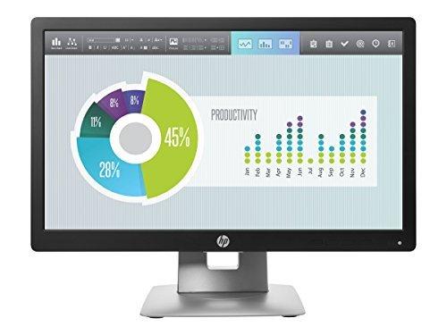 HP M1F41A8#ABA EliteDisplay E202 20'' LED-Backlit LCD Monitor, Black [並行輸入品] B01LRD7V14