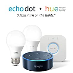 Echo Dot (2nd Generation) - Black + with...