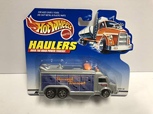 Armored Transport Vehicle - Haulers ARMORED TRANSPORT 1998 Mattel Hot Wheels diecast over the raod power truck