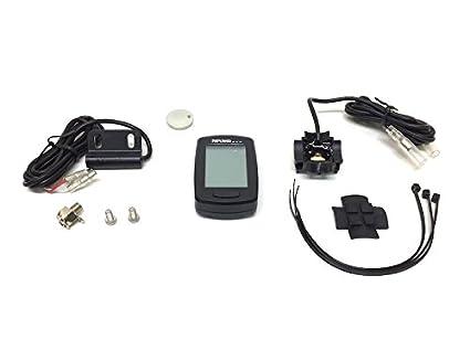 Cuentakilómetros digital para patinete, escúter, motocicleta ...
