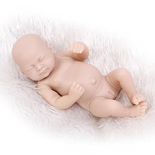 Full Silicone Vinyl Baby Mold Unpainted Doll Kit Gentle Touch (Touch Vinyl Doll)