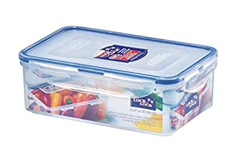Lock & Lock Airtight Rectangular Food Storage Container 27.05-oz / 3.38-cup (Pack of 4) LockandLock COMIN18JU086694