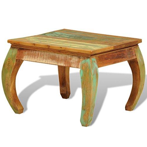 Festnight Reclaimed Wood Coffee Table, 23.6