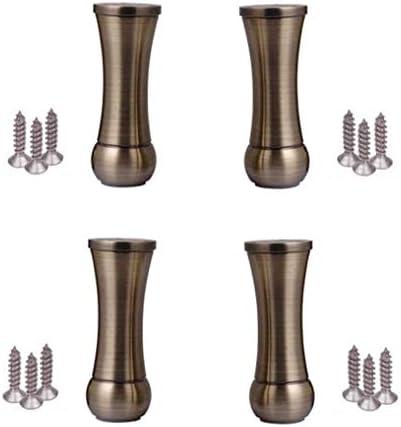 GCX- テーブルと椅子の足8/10/12 / 15センチメートルアルミ合金調整内閣足支持脚テレビ家具の足金属テーブルの脚 耐久性 (Size : 8cm)