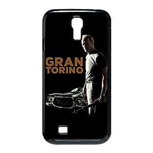 Alta Resolución Gran Torino cartel Samsung Galaxy S4 9500 caja del teléfono celular funda Negro caja del teléfono celular Funda Cubierta EEECBCAAJ74725