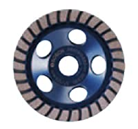 Bosch DC430H 4-Inch Diameter Turbo Row Diamond Cup Wheel with 5/8-11 Hub