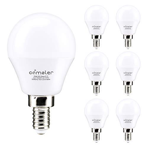 led candelabra bulb cool white - 6