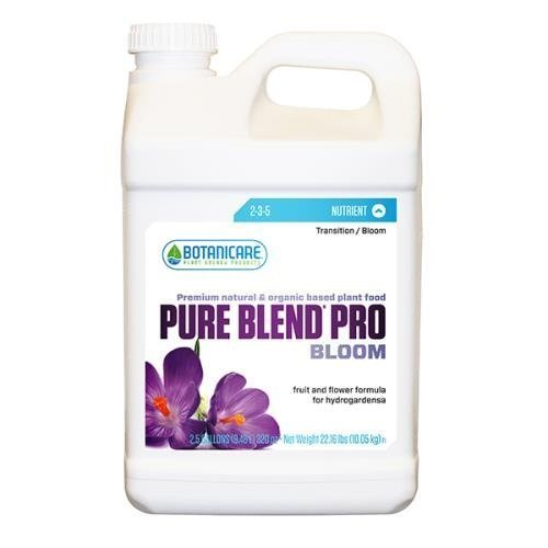 Botanicare PURE BLEND PRO Bloom Soil Nutrient 2-3-5 Formula, 2.5-Gallon