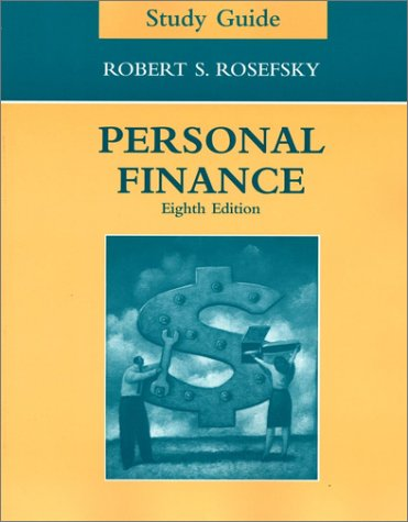 Personal Finance, Study Guide