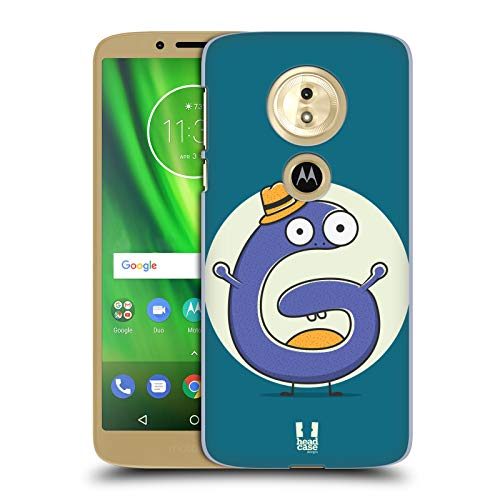 Head Case Designs Sir G Alphabet Monster Hard Back Case for Motorola Moto E5 / G6 - Moto Case Monster G