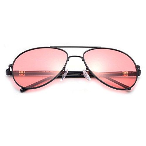 LOMOL Mens Advanced Polarized Night Vision Goggles Driving Fishing Aviator Style - Vision Eyewear Neo